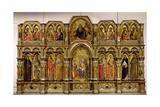 Polyptych of the Annunciation, 1357 Giclée-Druck von Lorenzo Veneziano