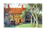 Tea at Red House, 1907 Lámina giclée por Crane, Walter