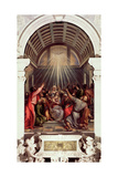 Pentecost Giclée-tryk af  Titian (Tiziano Vecelli)