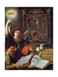 A Jesuit Conversion Giclée-Druck von Juan de Valdes Leal