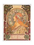 Zodiac, 1896 Giclee Print by Alphonse Mucha