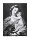 Madonna and Child, 1708 Giclée-vedos tekijänä Pompeo Batoni