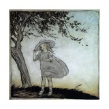 Ladybird, Ladybird Fly Away Home, Illustration from 'Mother Goose, the Old Nursery Rhymes' Giclee Print by Arthur Rackham
