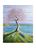 Dreaming of Cherry Blossom, 2004 Giclée-Druck von Liz Wright