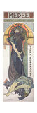 Sarah Bernhardt (1844-1923) as Medee at the Theatre De La Renaissance, 1898 Giclee Print by Alphonse Mucha