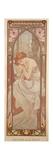 The Times of the Day: Night's Rest, 1899 Gicléedruk van Alphonse Mucha