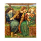 The Merciless Lady Giclee-trykk av Dante Gabriel Rossetti