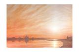 Taj Mahal at Sunset Giclee Print by Derek Hare