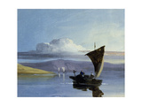 A Chinese Junk Giclee Print by George Chinnery