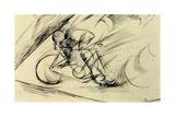 Dynamism of a Cyclist, 1913 Impressão giclée por Umberto Boccioni