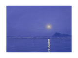 Moonlight over Udaipur Giclee Print by Derek Hare