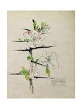 Blackthorn, Chiddingstone, Kent, 1910 Giclée-tryk af Charles Rennie Mackintosh