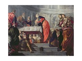 The Presentation of Jesus in the Temple Lámina giclée por Jacopo Robusti Tintoretto