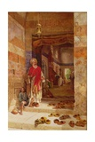In the Name of the Prophet, Alms! 1877 Giclee Print by Charles Robertson