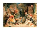 Highland Hospitality Giclee Print by John Frederick Lewis