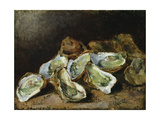 Still Life with Oysters Giclee Print by Auguste Theodule Ribot