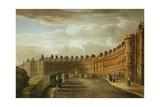 Lansdown Crescent, Bath, 1820 Giclee Print by David Cox