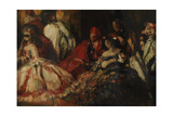 A Fancy Dress Dinner Party, c.1903 Giclee Print by Charles Ricketts