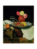 Still Life - Roses Giclee Print by George Leslie Hunter