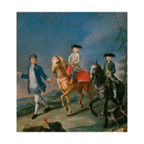 The Horse Ride Giclee Print by Pietro Longhi