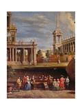 The Concert in the Garden Giclée-Druck von Antonio Visentini
