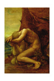 Adam and Eve, c.1865 Reproduction procédé giclée par George Frederick Watts