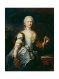 Portrait of a Young Woman, or the Debutante Giclée-tryk af Jacopo Amigoni