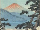Der Fuji in Japan Giclée-Druck von Kawase Hasui