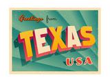 Vintage Touristic Greeting Card ポスター : Real Callahan