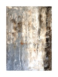 Brown And Grey Abstract Art Painting Affischer av  T30Gallery