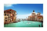Grand Canal And Basilica Santa Maria Della Salute, Venice, Italy Print by Iakov Kalinin