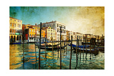 Amazing Venice - Artwork In Painting Style Art by  Maugli-l