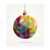 Geometric Christmas Ornament Arte di  cienpies