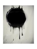 Abstract Oil Slick Flows With Drops Láminas por  fet