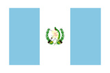 Sovereign State Flag Of Country Of Guatemala In Official Colors Prints by  Speedfighter
