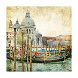 Pictorial Venice - Artwork In Painting Style Art by  Maugli-l