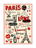 Paris - A City Of Love And Romanticism Affiches par Anastasiya Zalevska