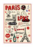 Paris - A City Of Love And Romanticism Kunstdrucke von Anastasiya Zalevska