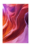 Magic Colors Of Canyon Antelope In The Usa Prints by  kavram