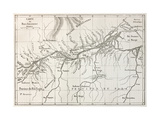 Lower Amazon Basin Old Map. Created By Erhard, Published On Le Tour Du Monde, Paris, 1867 Prints by  marzolino
