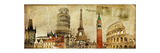 Vintage Postal Card - European Holidays Posters by  Maugli-l