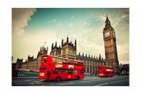 London, The Uk Poster von Michal Bednarek