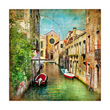 Beautiful Venice - Artwork In Painting Style Posters por  Maugli-l