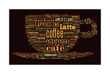 Poster For Decorate Cafe Or Coffee Shop Poster von  alanuster