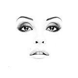 Picture Of Woman's Face With Professional Makeup Prints by  ustin