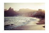 View Of Ipanema Beach In The Evening, Brazil Affiches par Mariusz Prusaczyk
