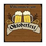 Oktoberfest Retro Poster Posters af  radubalint