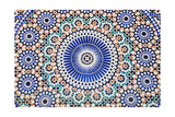 Oriental Mosaic In Morocco Plakater af  p.lange