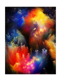 Unfolding Of Fractal Dreams Posters van  agsandrew