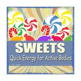 Sweets Vintage Grunge Poster Art by  radubalint